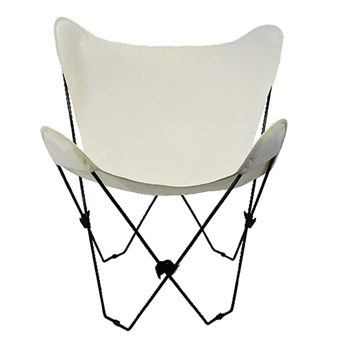 Well known Amazon.com : Algoma 4053-00 Butterfly Chair Black Frame, Natural  LU99