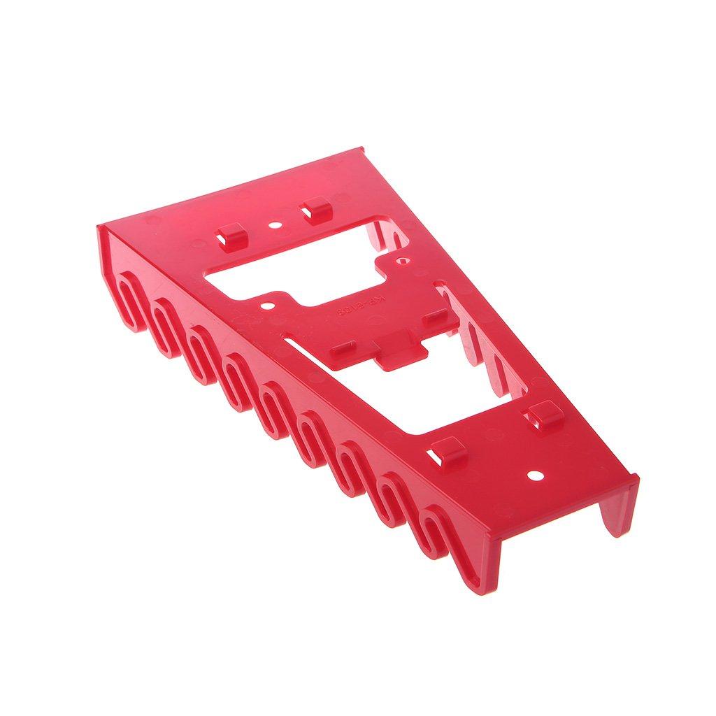 Color Rojo Caja De Herramientas Herramienta Clasificador Llave Organizador