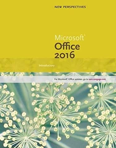 New Perspectives Microsoft Office 365 & Office 2016: Introductory, Spiral bound Version (Microsoft Office Course)