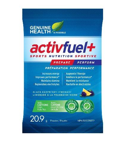 Activfuel + WHEY-интерфейс (без кофеина) (Один 20.4g пакетик) Black Raspberry Lemonade вкус (Actifuel Активный топлива) Марка: Подлинная Здоровье