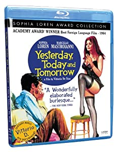 Cover Image for 'Yesterday, Today and Tomorrow (Sophia Loren Award Collection)'