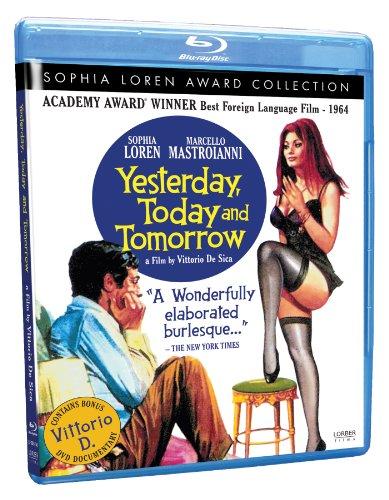 Yesterday, Today and Tomorrow (Sophia Loren Award Collection) [Blu-ray]