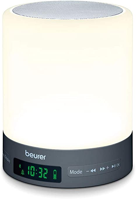 Beurer WL 50 Light Alarm Clock with LED