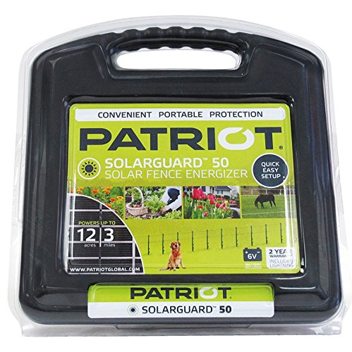 Patriot SolarGuard 50 Fence Energizer, 0.05 Joule ()
