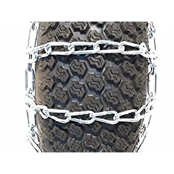 The ROP Shop New Pair 2 Link TIRE Chains 20x10.00x
