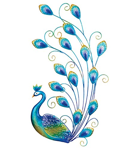 Regal Art & Gift Peacock Wall Decor, 30