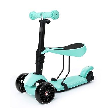 Scooter Aire Libre y Deportes Patinetes niños de 3 Ruedas y ...