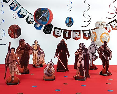 American Greetings 6298505 Star Wars 8 Decor Bundle, 4 Count -