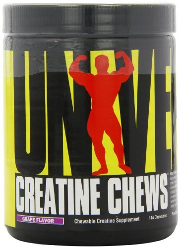 Universal Nutrition Creatine Chews Grape Capsules Pack of 144 by Universal Nutrition by Universal Nutrition