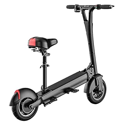 Electric Kick Scooter, Tires 350W Motor, 21.7 Miles Range & 15.5mph Speed Max, LED Headlight & Display, Portable Folding Easy Carry for Adult : Sports & Outdoors
