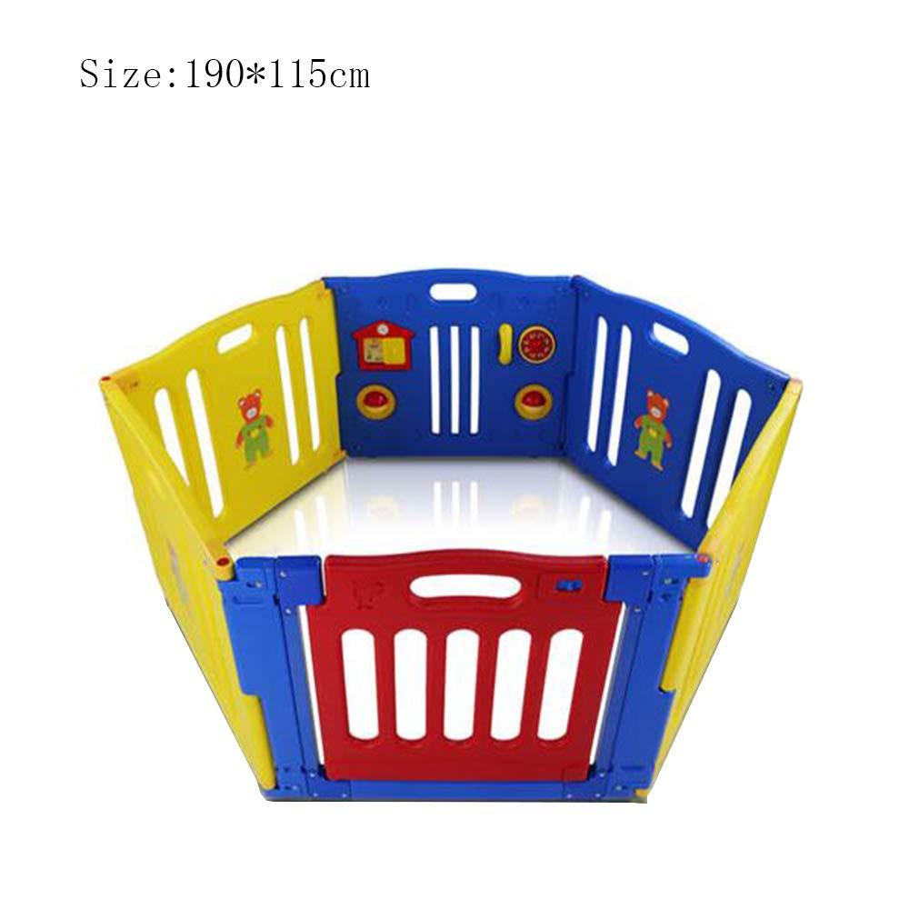 上等な XIAOLIN 115) 子供のゲーム柵を這う家のフェンス柵を歩くことを学ぶ屋内および屋外の安全フェンス (サイズ さいず : 190* 115) (サイズ 190 :*115 B07GLS6189, アメイズゴルフ:014bcf94 --- a0267596.xsph.ru