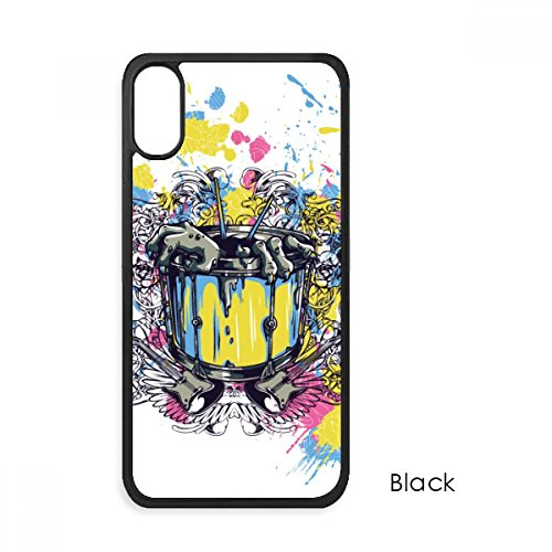Graffiti Street Barrel Guitar Hands Pattern For iPhone X Cases Phonecase Apple Cover Case Gift