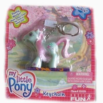 Amazon.com: My Little Pony Minty Basic Fun clave Cadena ...