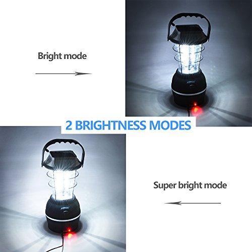 Solar Lantern, AGPtek 5 Mode Han...