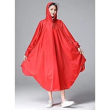 Abrigos impermeables poncho impermeable Chaqueta larga a prueba de ...