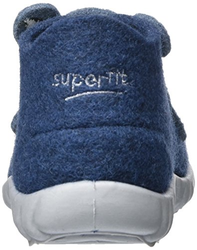 Superfit Happy - Zapatillas de casa Niños Blau (WATER KOMBI)