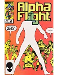 Alpha Flight #25 : And Graves Give Up Their Dead (Marvel Comics)