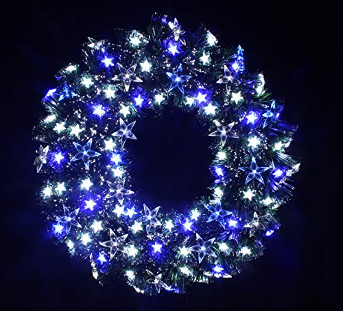 60 Wreath With Led Lights in US - 2