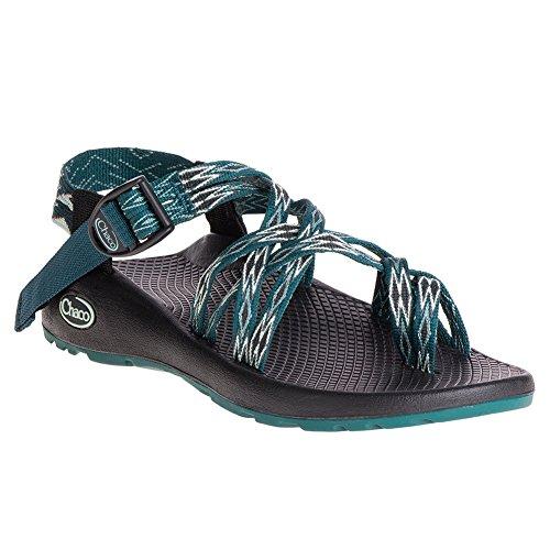 Blå Atletisk Chaco Klassisk Kvinde Grøn Zx2 Teal Sandal kantet nFYwCqRcYW