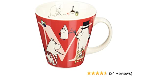 Moomin initial mug J MM630-11J Free Shipping with Tracking number New from Japan