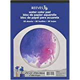 Reeves 9-Inch by 12-Inch Water Color Paper Pad, 35-Sheet