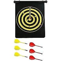 Tablero de dardos magnética para colgar de doble cara tablero de dardos