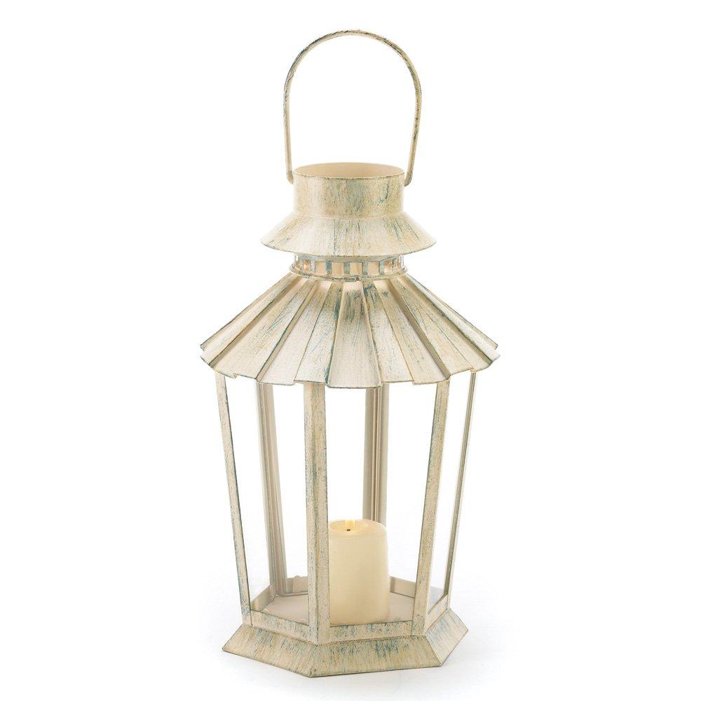 10 Wholesale Graceful Garden Lantern Wedding Centerpieces by Tom & Co.