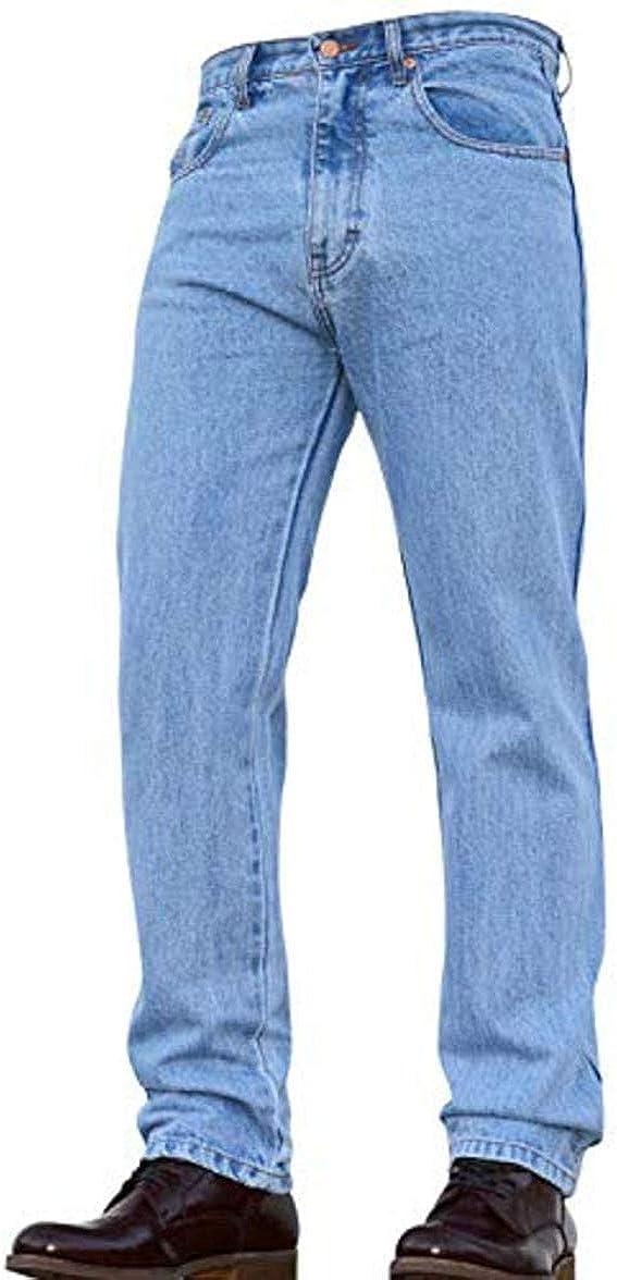 Mens Heavy Duty  Denim Jeans Casual or Work Wear W 30 48 L 27 29 31