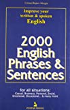 2000 English Phrases and Sentences, Rajiv Mangia, 8122308597