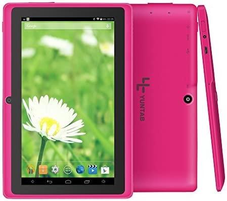 Amazon.com: Yuntab Q88 7 pulgadas Allwinner A33,1.5 Ghz Quad ...