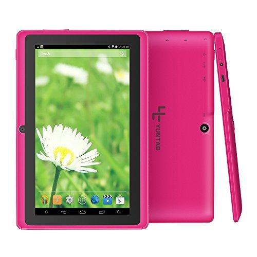 "Yuntab 7"" Tablet, Android 4.4, Allwinner A33 Quad Core, 8GB"