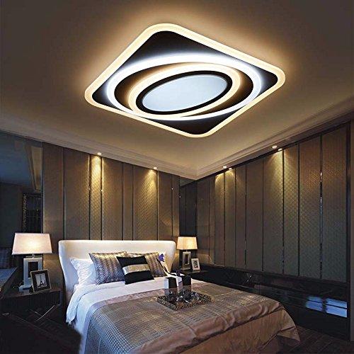 Exceptionnel Moderne LED Deckenleuchte Led Wohnzimmer Deckenleuchte Simple Study  Restaurant Lampe 45 * 45Cm