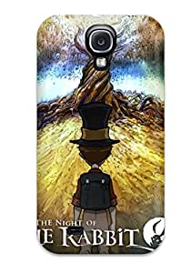 Viktoria Metzner's Shop Hot 1281139K99029704 Rugged Skin Case Cover For Galaxy S4- Eco-friendly Packaging(the Night Of The Rabbit Poster)
