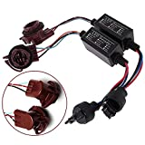 JahyShow 2Pcs 3157-A LED Decoder Adapter Anti Hyper Blink Flash Error Cancel Canbus Brake Set