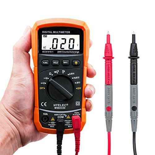Vehicle Installed Digital Measuring Instruments : Digital multimeter crenova ms d auto ranging