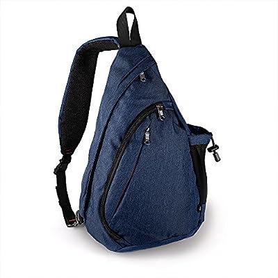 OutdoorMaster Sling Bag - Small Crossbody Street/Travel Backpack for Men & Women