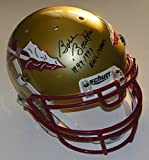 Bobby Bowden Signed Autographed Auto FSU Florida State Seminoles Full Size Authentic Helmet w/1993 & 99 Nat'l Champs - Proof