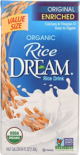 (Dream Blends Enriched Original Organic Rice Drink, 64 oz)