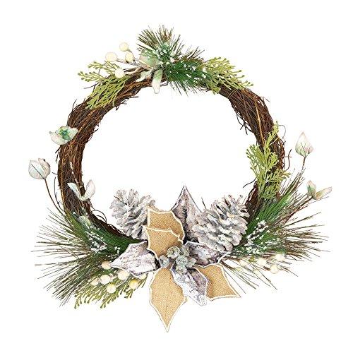 nted Twig Wreath (Pine Twig)