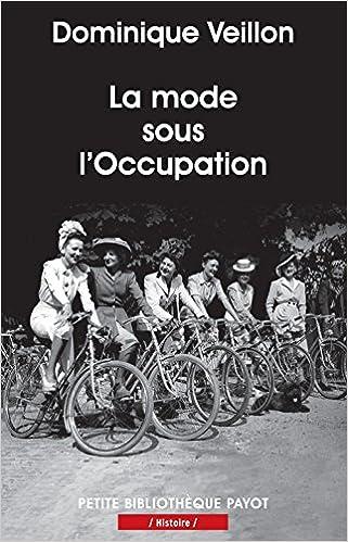 Lire La mode sous l'Occupation pdf