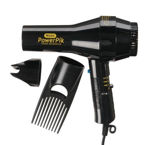 Wahl Afro Powerpik Hairdryer 1250W With Pik Attachment Zx052-800