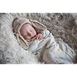 Luv-and-Hugs-Fox-and-Rabbit-Large-Premium-Knit-Muslin-Swaddle-Blanket-Baby-Shower-Gift