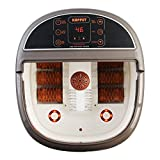 KUPPET FS10 Foot Pedicure Spa Massager, Heated Bath, Red Light, O2 Bubbles, Digital Adjustable Temperature Control, 6 Roller Massager for Relaxation and Rejuvenation