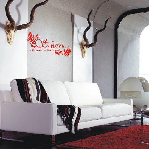 INDIGOS 4051719342833 Wandtattoo, Vinyl, türkis, 60 x 10 x 10 10 10 cm B0047NHUR2 Wandtattoos & Wandbilder 89a27e