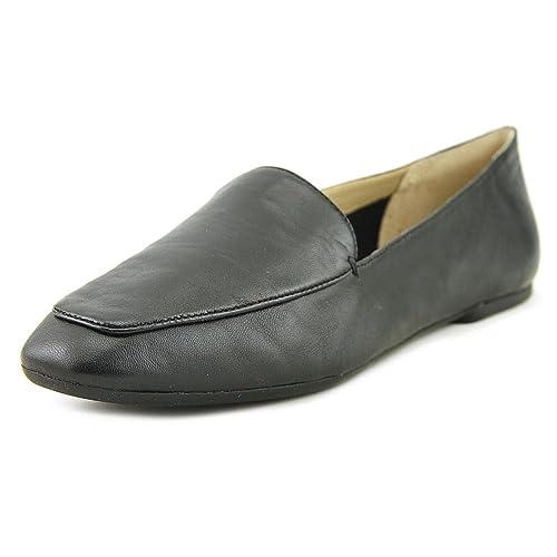 18e1e50932a Enzo Angiolini Womens Lorell Leather Square Toe Loafers