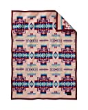 Pendleton Chief Joseph Crib Blanket, Pink
