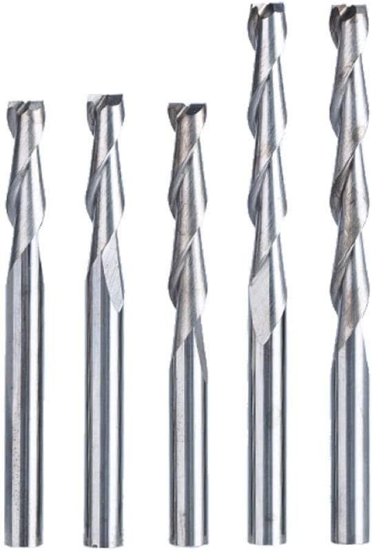 Drill Bit Sets 10pc/lot 4mm 2 Flute Spiral Router bit for Wood CNC End Mill Tungsten Carbide PCB Milling Cutter CNC Router tools-28mm_4mm 22mm*4mm