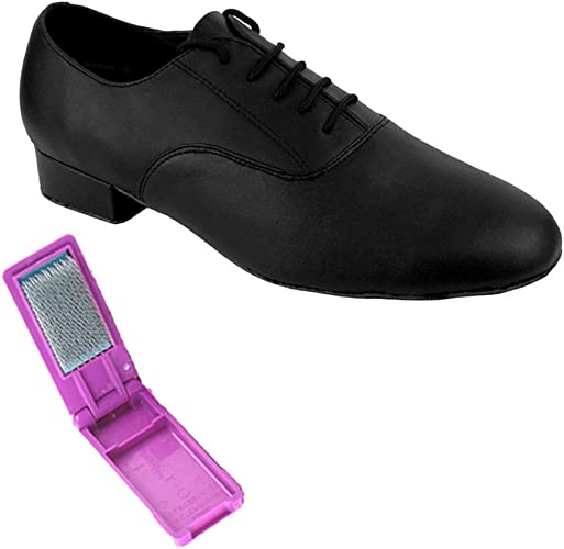Mens Latin Salsa Very Fine Ballroom Wedding Dance Shoe 919101 Black Nubuck