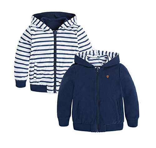 Reversible Striped Sweatshirt - 8