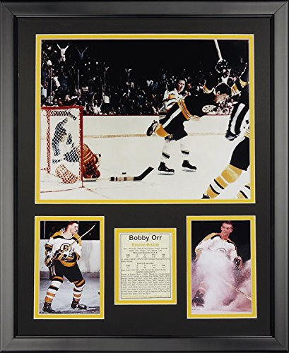 Legends Never Die Bobby Orr Game Winning Goal Framed Photo Collage, 16